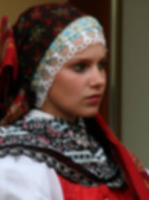 Folk costume from Kyjov region, South Moravia, Czechia