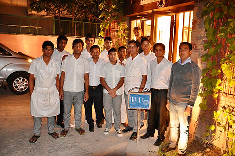 The Holey Bakery Team, Dhaka, Bangladesh