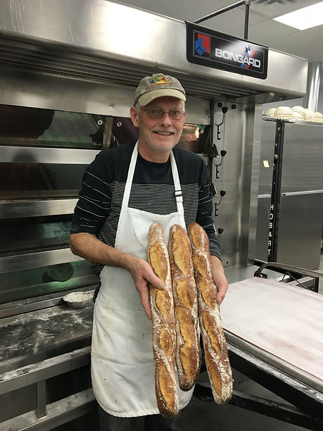 Maurice Chaplais Bakery Consultancy making baguettes in Cleveland USA