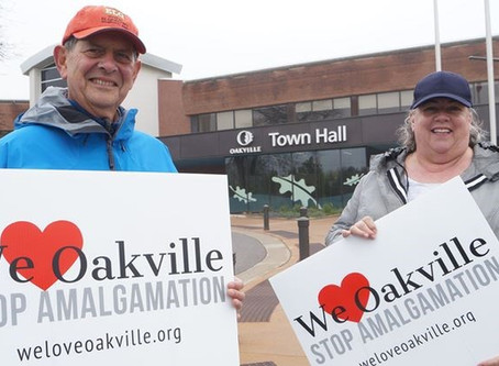 We Love Oakville Takes to the Streets
