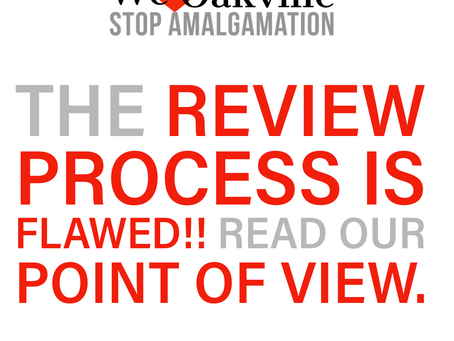 Provincial Review is a Flawed Process