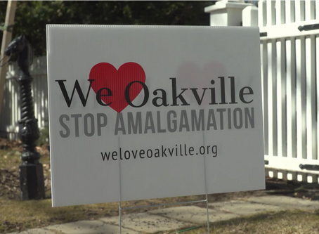 We Love Oakville fights amalgamation