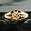 Thumbnail: Stunning Victorian 18ct gold Old cut solitaire 0.66ct diamond ring