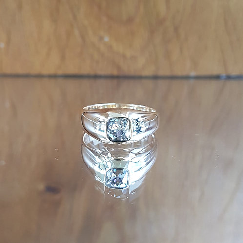 Exquisite Victorian 18ct Gold 1.25ct OLD MINE CUT solitaire diamond ring