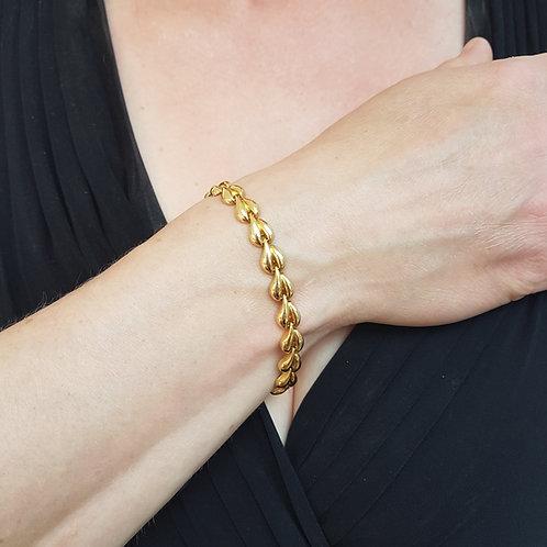 Exquisite solid 18ct gold Bracelet. Superb elegant piece 11.6g
