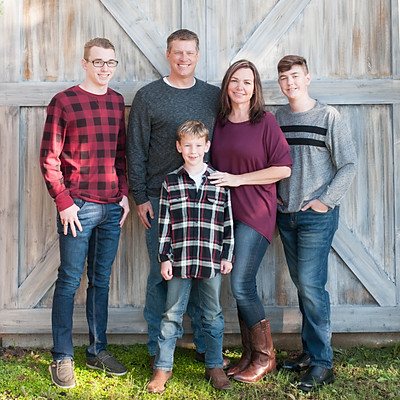 James Family 2018