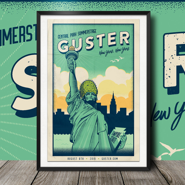 Guster Central Park Show