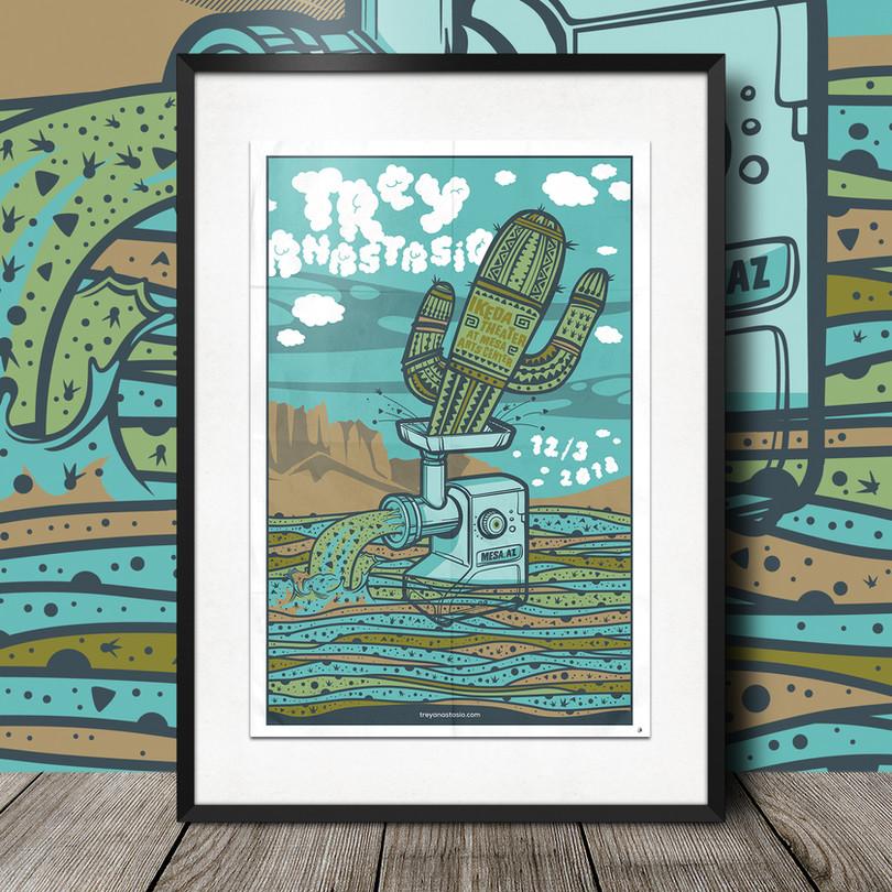 Gig Poster Design | Hoverchair Studios