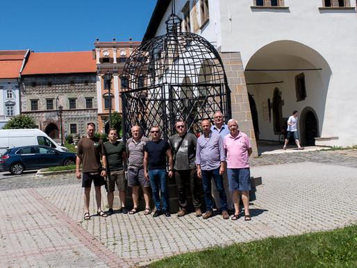 Návšteva poľských lesníkov