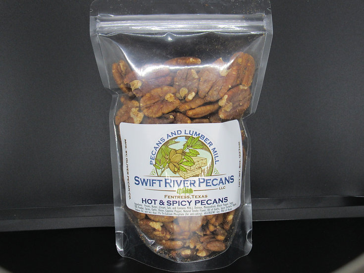 Hot & Spicy Pecans