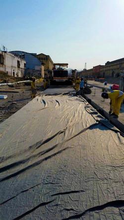 Pavimentadora de Concreto