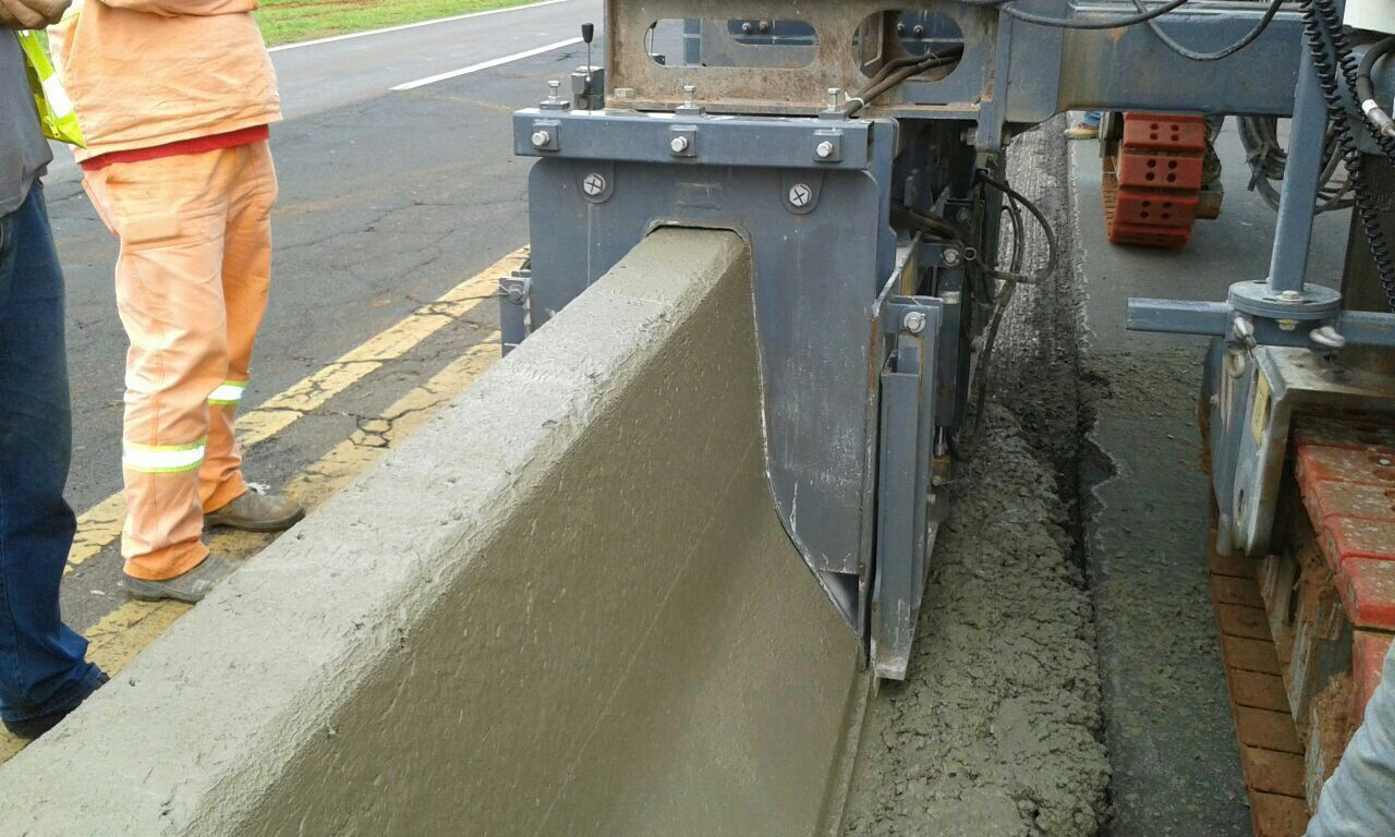 Extrusora de Concreto