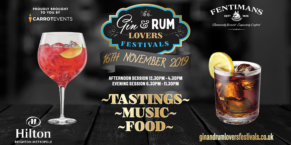 Gin & Rum Lovers Festival (Afternoon Session)