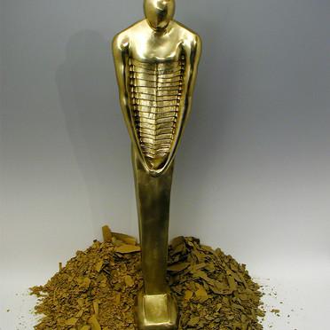 Diploma work bronze sculpture - 5