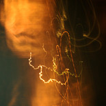 "Light composition ""Mona Lisa"""