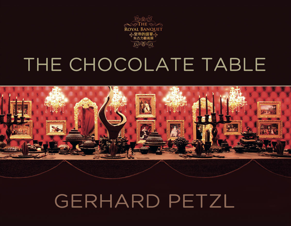 Book cover - The chocolate table
