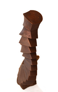 worm-chocolate sculpture