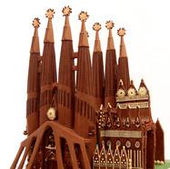 """La Sagrada Familia"" in chocolate"