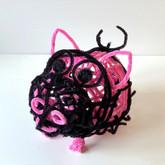 Masochistic pig