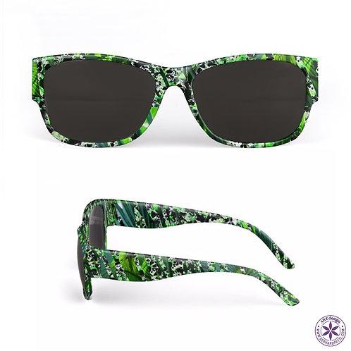 "Sunglasses ""Jungle green"""