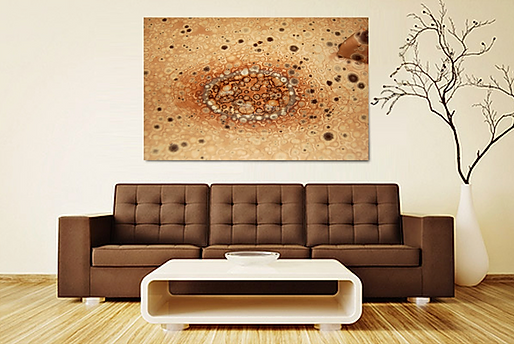 Chocolate crystals art by Gerhard Petzl - gallery prints