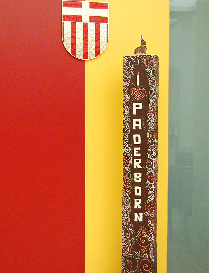 Chocolate column from Live-Performance a
