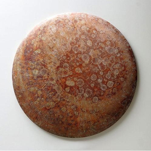 """Wood Sculpture: """"Planetarius Gerardus"""""""