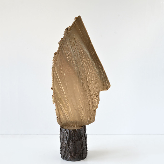 Wooden wedge face