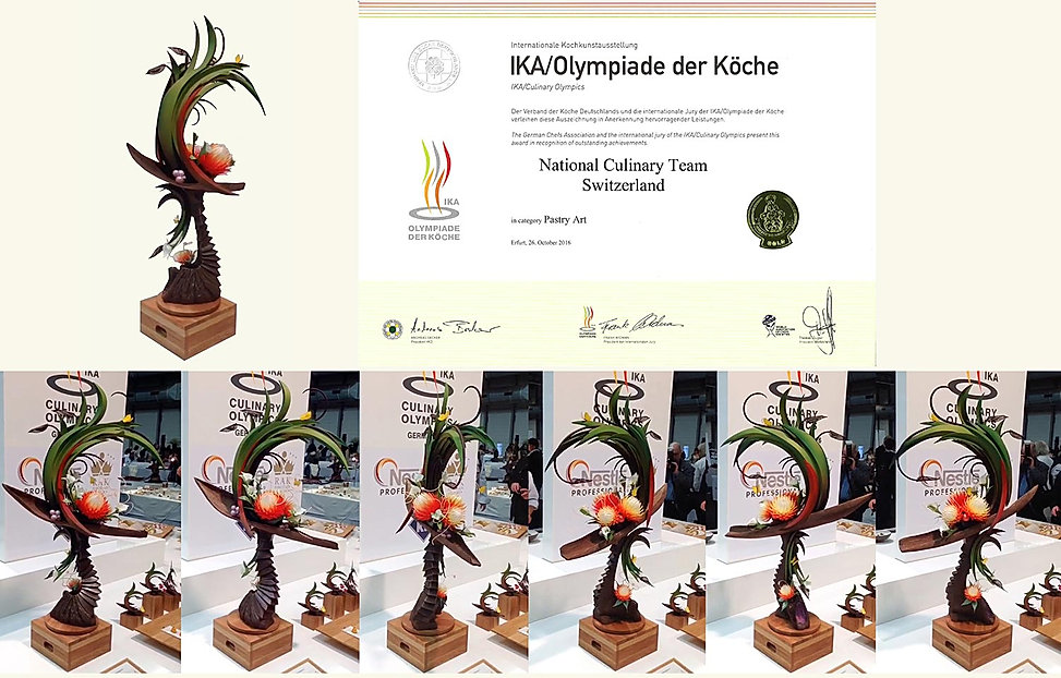 Chocolate showpiece Culinary Olympics in Berlin IKA, 2016 by Gerhard Petzl