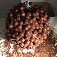 Start of chocolate ball