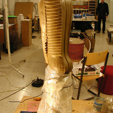 Diploma work clay model - 1
