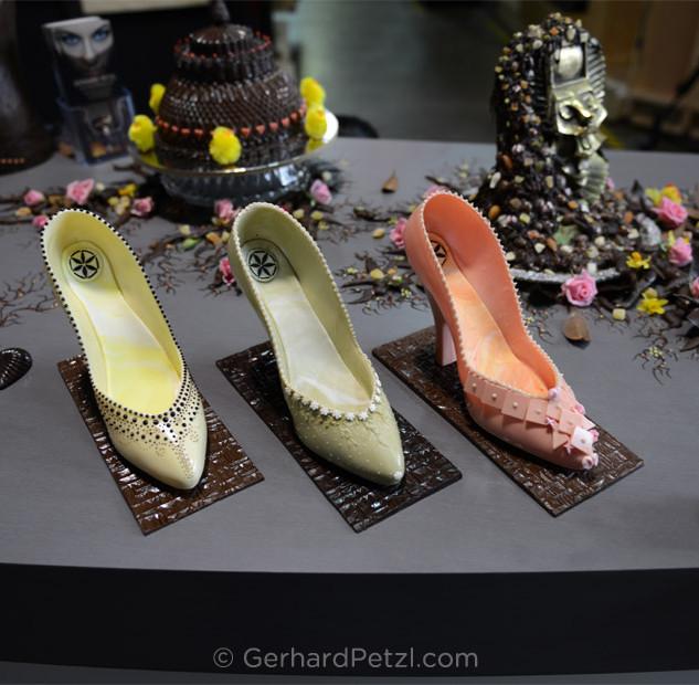 Fine art high-heels