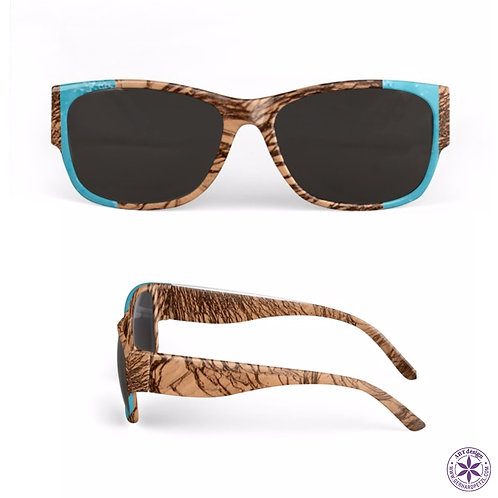 "Sunglasses ""Earth layers + Ice"""