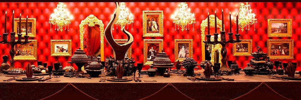Chocolate table by Gerhard Petzl