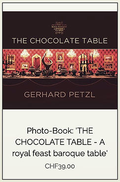 "Photobook ""The chocolate table"" by Gerhard Petzl"