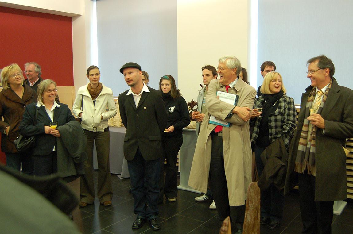 Opening-speech with city's mayor