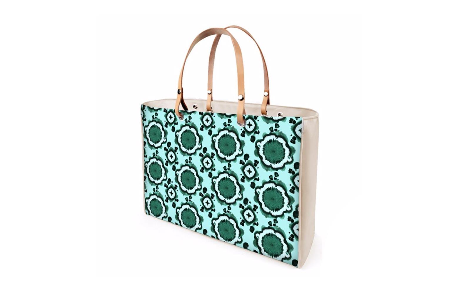Handbag-Retro-turquoise