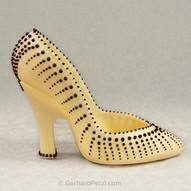 Fine art chocolate high-heels