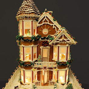 Gingerbread house by Gerhard Petzl - 2