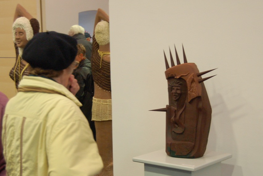Emotional reaction from visitor