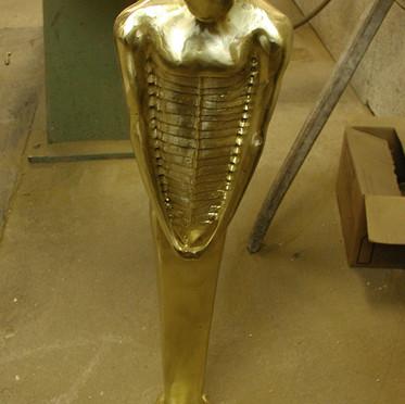 Diploma work bronze sculpture - 4