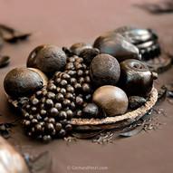 Chocolate fruit platter