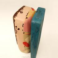 """""""Composition III"""" (2009) Modern art chocolate sculpture"""