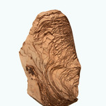 Layered chocolate rock