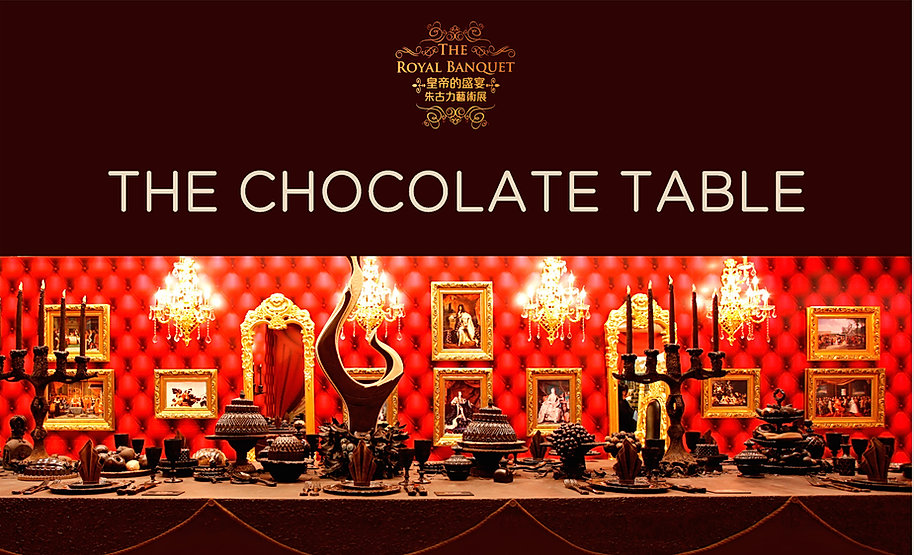 The chocolate table by Gerhard Petzl