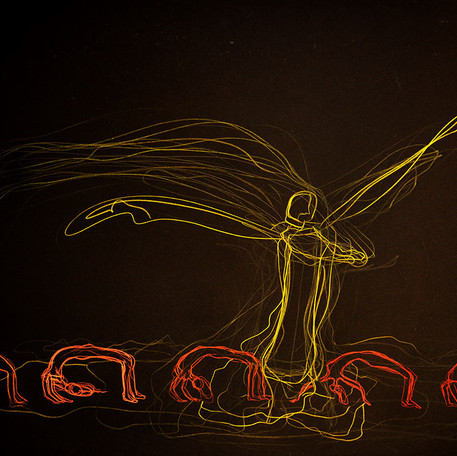 Egyptian dancers