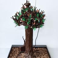 """Power tree 2.0"" with W-Lan antenna"