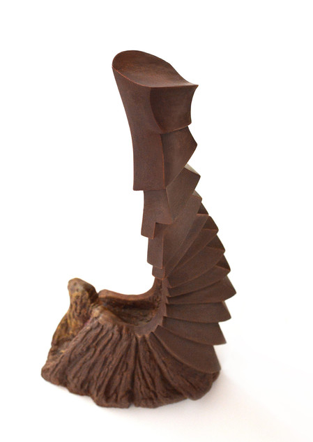 sitting chocolate sculpture