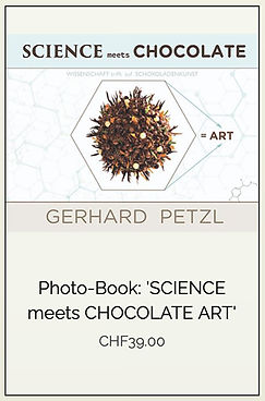 "Photobook ""Science meets chocolate art"" by Gerhard Petzl"