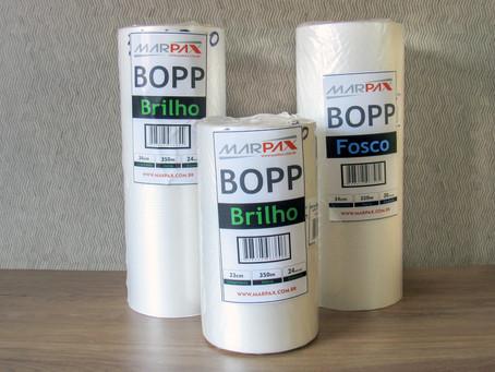 Laminação Bopp Brilho e Fosco